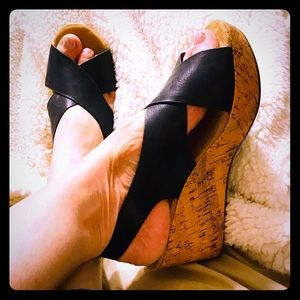 Madden Girl wedges size 10, great for summer!